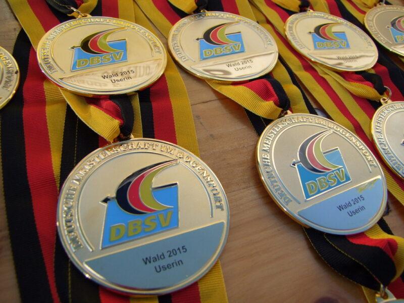 Medaillen DM 2015